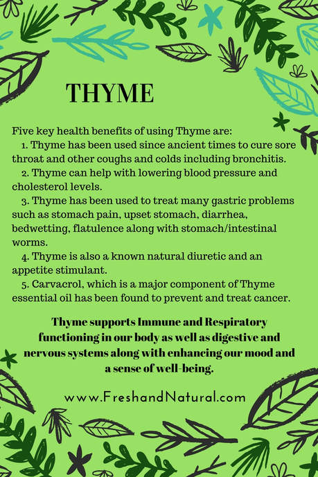 Healing and health benefits of ThymePicture